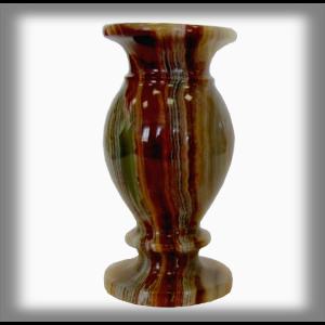 Onyxo Váza 7,5 x 15 cm - Zelený onyx