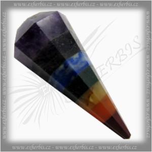 Salts Kyvadlo velké - Čakrové 4 cm