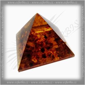 Salts Pyramida jantar rekonstruovaný 4 cm