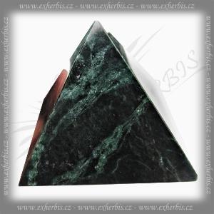 Salts Pyramida serpentin nefrit 8 cm