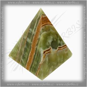 Onyxo Pyramida multigreen onyx 12,5 cm