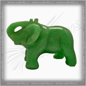 Onyxo Slon Extra - zelený avanturin 5 cm