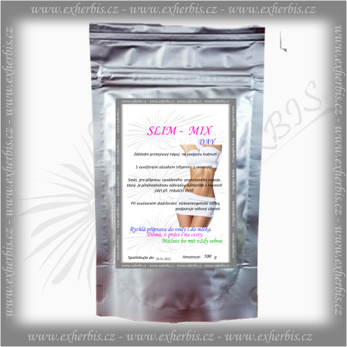 SLIM - MIX DAY Proteinový nápoj 500 g